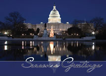 Capitol Reflections Regional Holiday Card